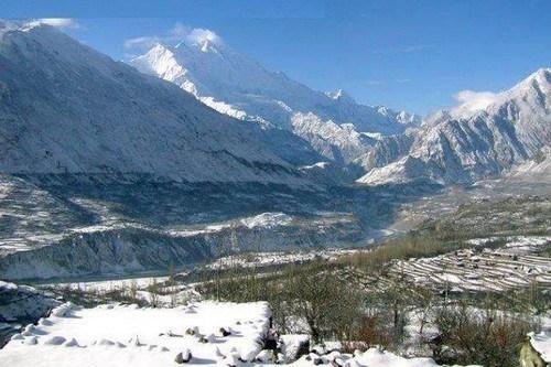 hunza-valley-snowfall